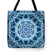Abstract Blue 22 Tote Bag