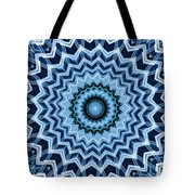 Abstract Blue 25 Tote Bag