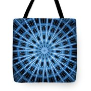 Abstract Blue 28 Tote Bag