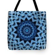 Abstract Blue 30 Tote Bag