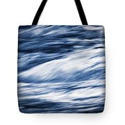 Abstract Blue Background Wild River Tote Bag