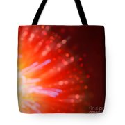 Abstract Blur Firework Background Tote Bag
