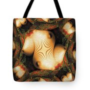 Abstract Breasts By Mb Tote Bag