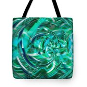 Abstract Brutality The Vortex Tote Bag