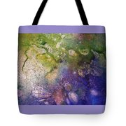 Abstract Bubbles And Rivers Tote Bag