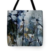 Abstract Bunch Of Flowers  Tote Bag