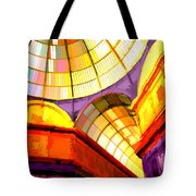 Abstract Cathedral Color Wheel Tote Bag