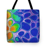 Abstract Cells 3 Tote Bag