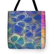 Abstract Cells 6 Tote Bag