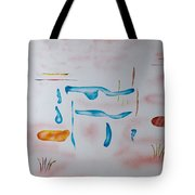 Abstract Character Tote Bag