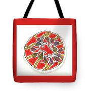 Abstract Circle Design #1 Tote Bag