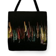 Abstract City Lights Tote Bag