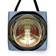 Abstract Classic Car Tote Bag