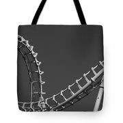 Abstract Coaster Panoramic Tote Bag