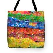 Abstract Color Combination Series - No 8 Tote Bag