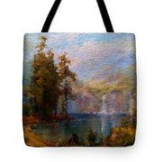 Abstract Colorful Nature Tote Bag