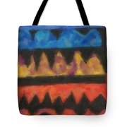 Abstract Combination Of Colors No 4 Tote Bag
