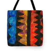 Abstract Combination Of Colors No 5 Tote Bag