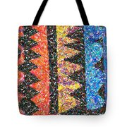 Abstract Combination Of Colors No 6 Tote Bag