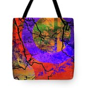 Abstract Configuration Tote Bag