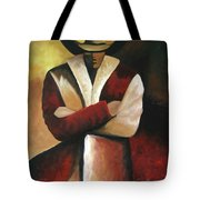 Abstract Cowboy Tote Bag