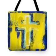 Abstract Crosses Tote Bag
