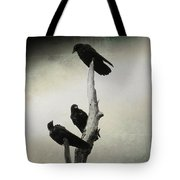 Abstract Crows In A Tree Tote Bag
