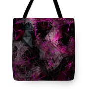 Abstract Crystal - Cg Render Tote Bag