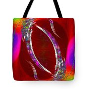 Abstract Cubed 233 Tote Bag