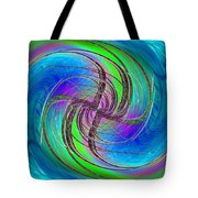 Abstract Cubed 261 Tote Bag