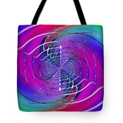 Abstract Cubed 262 Tote Bag