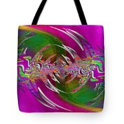 Abstract Cubed 266 Tote Bag