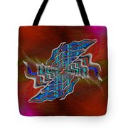 Abstract Cubed 271 Tote Bag