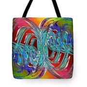 Abstract Cubed 280 Tote Bag