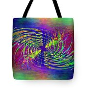 Abstract Cubed 298 Tote Bag
