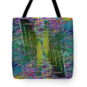 Abstract Cubed 310 Tote Bag