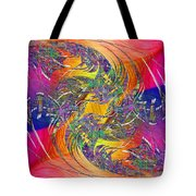 Abstract Cubed 314 Tote Bag