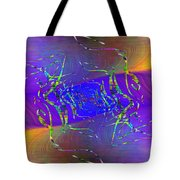Abstract Cubed 316 Tote Bag