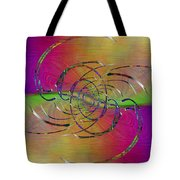 Abstract Cubed 317 Tote Bag