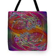 Abstract Cubed 320 Tote Bag
