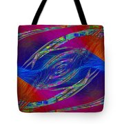 Abstract Cubed 323 Tote Bag