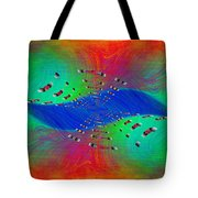 Abstract Cubed 328 Tote Bag