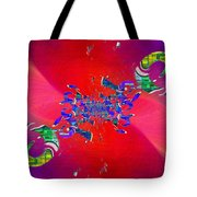Abstract Cubed 344 Tote Bag