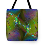 Abstract Cubed 361 Tote Bag