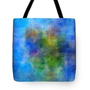 Abstract Cubist Interpreation Of My Boats At Rest Painting Available As A Large Stretched Canvas Art Tote Bag