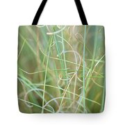 Abstract Curly Grass One Tote Bag