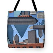 Abstract Dallas Tote Bag