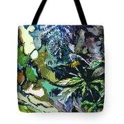 Abstract Dandelion Tote Bag