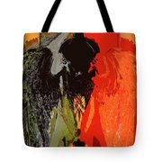 Abstract Dark Angel Tote Bag