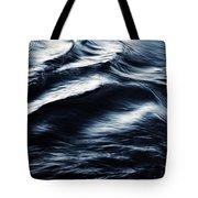 Abstract Dark Blurred Ripples Tote Bag